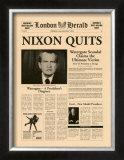 Nixon Quits Prints
