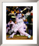 Billy Butler 2008 Batting Action Framed Photographic Print
