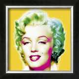 Marilyn in Yellow Prints by Wyndham Boulter