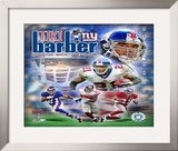 Tiki Barber Framed Photographic Print