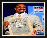 Jim Rice 2009 Hall of Fame Induction Ceremony Framed Photographic Print