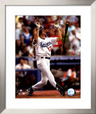 Steve Finley - Game Winning H.R. - Puts Dodgers into Playoffs Framed Photographic Print