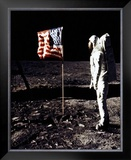 Buzz Aldrin Framed Photographic Print
