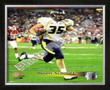 Owen Schmitt West Virginia University Mountaineers 2008 Framed Photographic Print