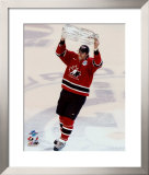 Joe Thornton with 2004 World Cup Trophy ©Photofile Framed Photographic Print