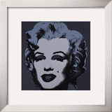 Marilyn, c.1967 (Black) Art by Andy Warhol