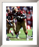 Bryant Young  '04/'05 action ©Photofile Framed Photographic Print