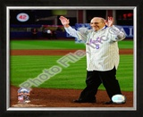 Yogi Berra Final Game at Shea Stadium 2008 Framed Photographic Print