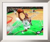 Leon Powe, Game 2 of the 2008 NBA Finals; Action 6 Framed Photographic Print