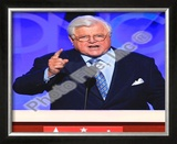 U.S. Senator Edward Kennedy at the 2008 Democratic National Convention Framed Photographic Print