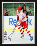 Henrik Zetterberg 2008-09 NHL Winter Classic Framed Photographic Print