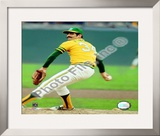 Rollie Fingers Action Framed Photographic Print
