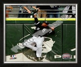 DeWayne Wise - Amazing Catch to Save Buehrle's Perfect Game Framed Photographic Print
