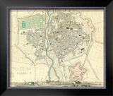 Parma, Italy, c.1840 Framed Giclee Print
