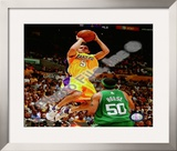 Jordan Farmar, Game 3 of the 2008 NBA Finals Framed Photographic Print