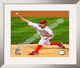 Joe Blanton Game 4 of the 2008 MLB World Series Framed Photographic Print