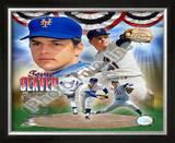 Tom Seaver - Legends Compostie; NY Mets Framed Photographic Print