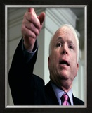 Senator John McCain Framed Photographic Print