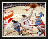 Yao Ming Framed Photographic Print
