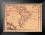 South America, 1802 Art