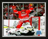 M. Hossa - '09 St. Cup / Gm. 1 Framed Photographic Print