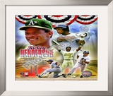 Rickey Henderson Framed Photographic Print