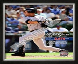 Derek Jeter Most Career Hits by a Shortstop 2009 Framed Photographic Print