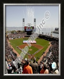 AT&T Park 2008 Opening Day; SanFrancisco Giants Framed Photographic Print