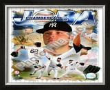 Joba Chamberlain 2008 Portrait Plus Framed Photographic Print