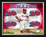 Jimmy Rollins Framed Photographic Print