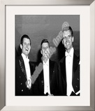 Edward Kennedy, John F. Kennedy, and Robert Kennedy 1958 Framed Photographic Print