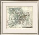 Saint Petersburg, Russia, c.1834 Framed Giclee Print