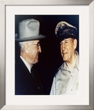 Harry Truman and General Douglas MacArthur Framed Photographic Print
