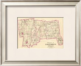 Connecticut: Hartford County South, c.1893 Framed Giclee Print