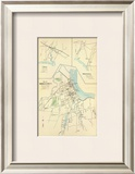 Middletown, Connecticut, c.1893 Framed Giclee Print