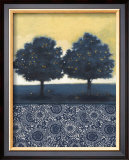 Blue Lemon Tree II Posters by Norman Wyatt Jr.