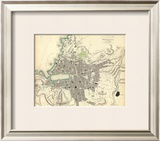 Marseille, France, c.1840 Framed Giclee Print
