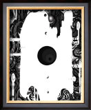 Color Melody: All Silent at Night and the Beauty of the Darkness Framed Giclee Print by Kyo Nakayama