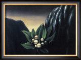 Les Fleurs de l'Abi^me 1, c.1928 Poster by Rene Magritte