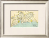 Connecticut: New Haven County South, c.1893 Framed Giclee Print