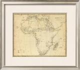 Africa, c.1839 Framed Giclee Print