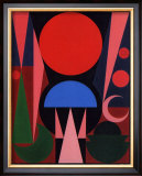 Paques, c.1949 Prints by Auguste Herbin