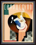 Cubist Cappuccino Prints by Eli Adams