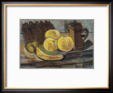 Still Life with Banana Print by Georges Braque