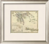Ancient Greece, Southern, c.1829 Framed Giclee Print
