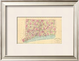State of Connecticut, c.1893 Framed Giclee Print