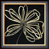Oxygen Scribble Flower Prints by Debbie Halliday