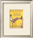 Wish or Work Prints