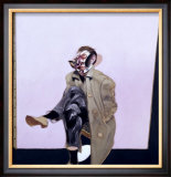 Self Portrait Seated, c.1970 Print by Francis Bacon