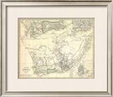 South Africa, c.1834 Framed Giclee Print
